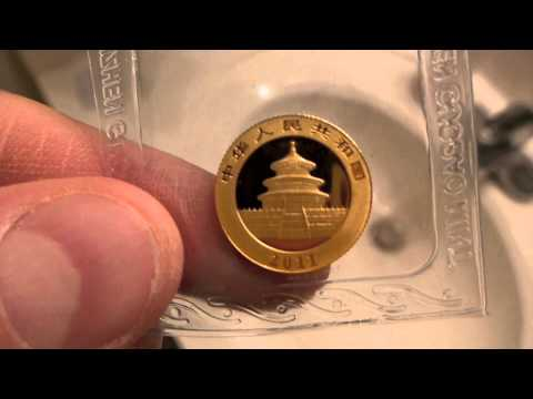 2011 1/10th oz. Gold Chinese Panda (Sealed) Coin Review & Opinion