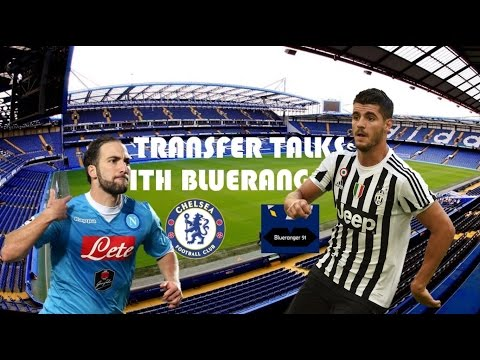 Morata, Higuain & more linked to Chelsea Football Club | Transfer Talks 3