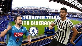Morata, Higuain & more linked to Chelsea Football Club | Transfer Talks 3