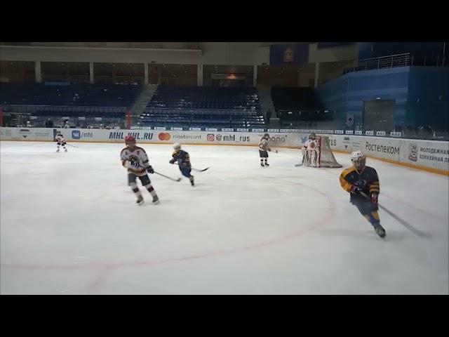 (6+) Завершается областной чемпионат по хоккею