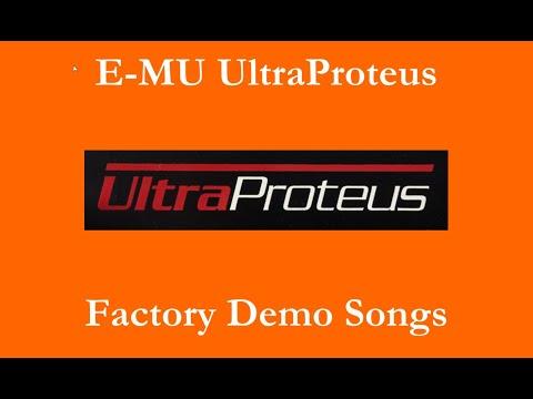 E-MU UltraProteus - Démos internes - Factory Demo Songs