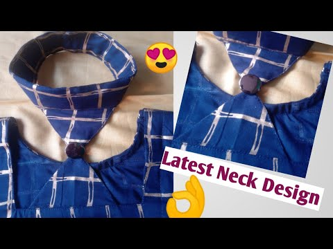 Collar Neck Design Cutting And Stitching Very  Easy Method 😍 👌👌👌👌 (cutting And Stitching).