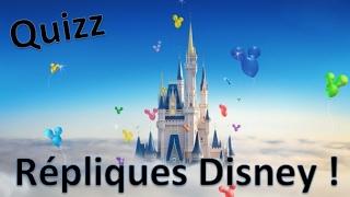Quizz Disney - Répliques de personnages / 20 Extraits (Blind test)
