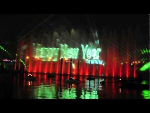 2013 Huge Fireworks In DUBAI FESTIVAL CITY On (Happy New Year 2013 )