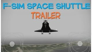 F-sim space shuttle (trailer)