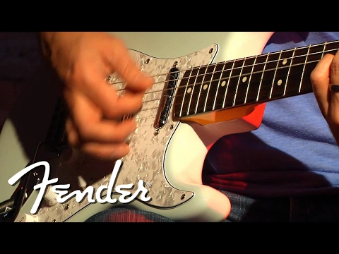Squier Vintage Modified Surf Strat Clean Tone Demo | Fender