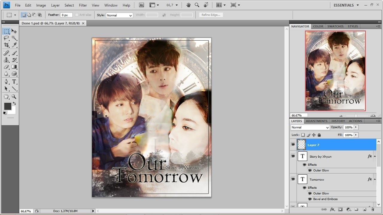 Wattpad Book Cover Tutorial Photo : Tutorial how to make cover fanfiction using photoshop