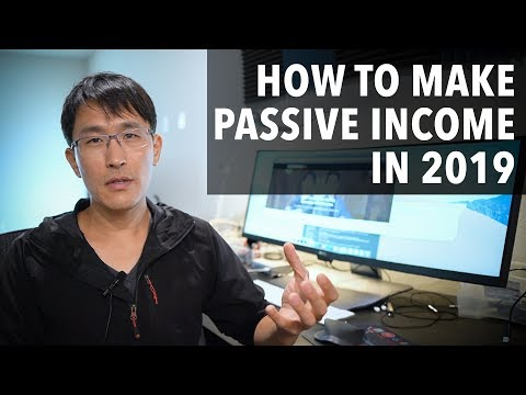 Top tips for making passive income in 2019. (as a millionaire)