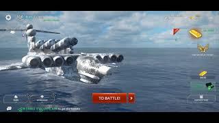 Modern Waship Plane attack