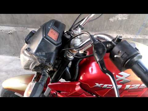 Xcd 125 New Look With Parking Mode Youtube