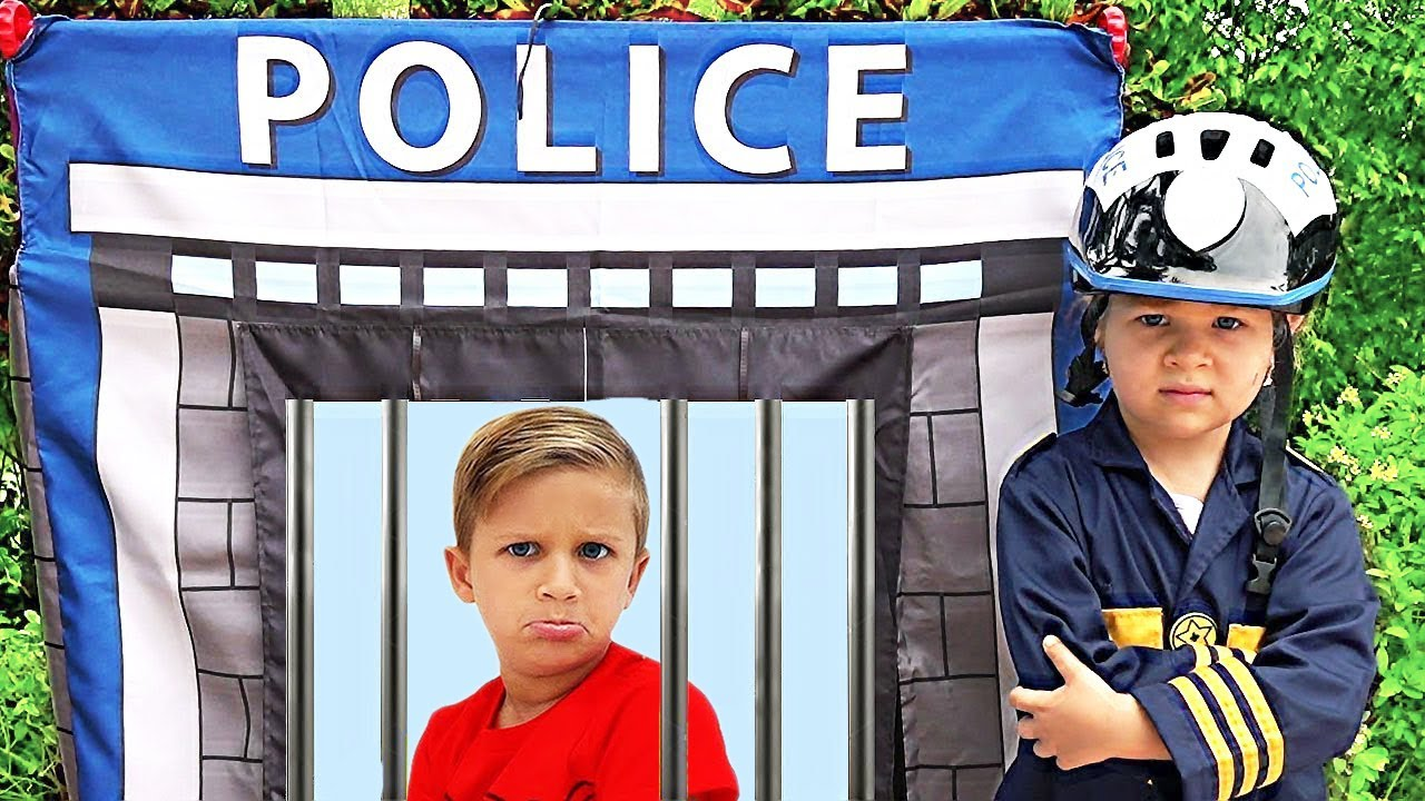 Roma and fun cops stories for kids