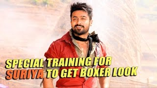 Special training for Suriya to get boxer look