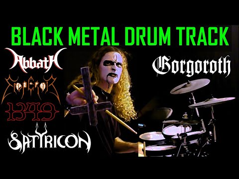 Black Metal Drum Track From Norwegian Black Metal Band
