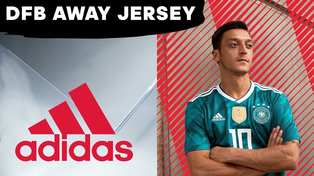 ac2198c513d The Dream of the 90s Is Alive in Deutschland… With Its World Cup Away Jersey