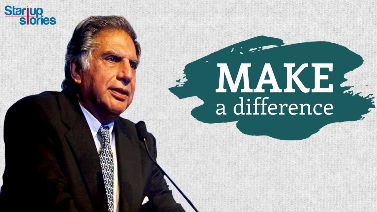 Ratan Tata Inspirational Video | Best Motivational Speech | Rules of Success | Startup Stories