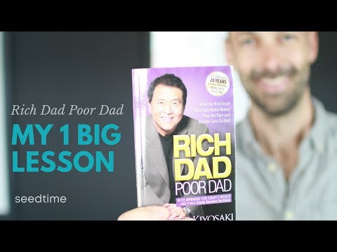 Rich Dad Poor Dad Lesson