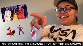 My Reaction To Havana Live On The 2019 Grammys By Camila Cabello ft. Young Thug