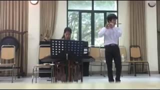 bài thi học kỳ 1 sáo trúc Đỗ Quốc Hỷ( tiếng hát giữa rừng pác bó-trèo lên trái núi thiên thai