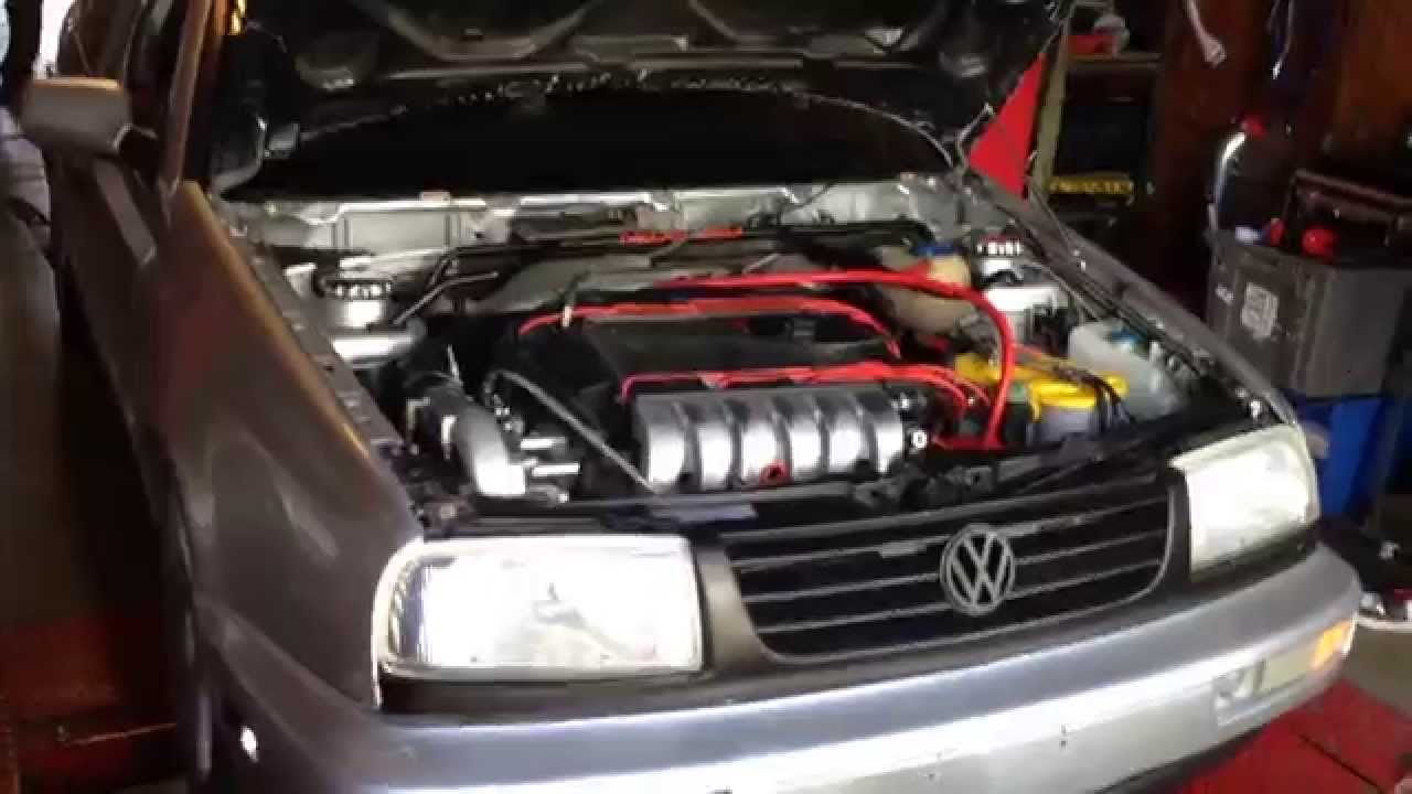 Vortech Supercharged VR6  Dyno  YouTube