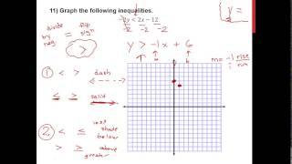 Intermediate Algebra - Test 2 Study Guide