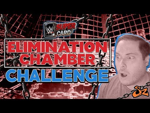 SUPERCARD BINGO - ELIMINATION CHAMBER CHALLENGE!! | WWE SuperCard S4