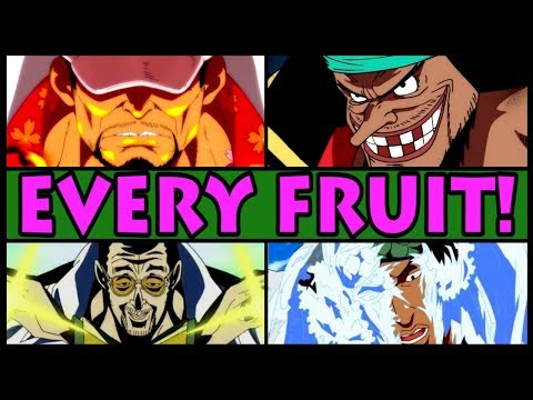 EVERY DEVIL FRUIT EXPLAINED! | Logia | (One Piece All Devil