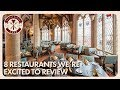 8 Disney Restaurants We're Excited to Review That We Haven't Done | Disney Dining Show | 01/19/18