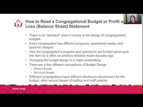 How to Read Congregational Financial Documents