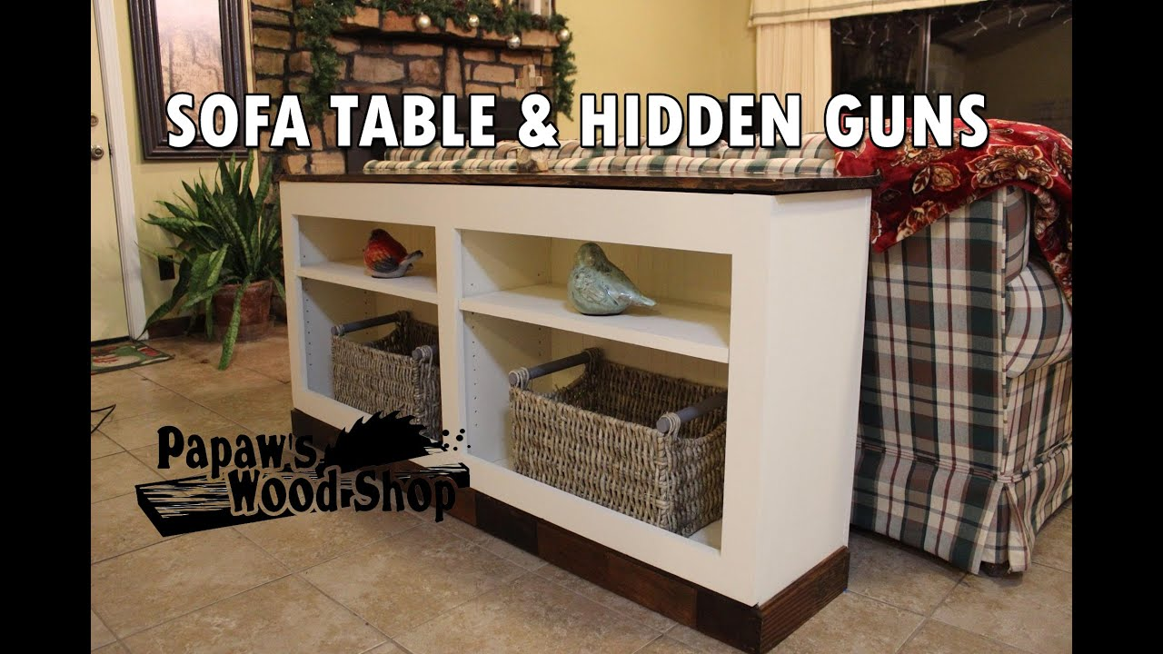 Firearms Concealment Furniture - Hidden Gun Storage Bookcase