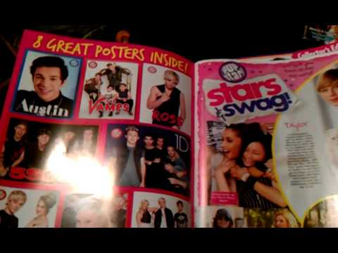 what's inside Popstar Magazine
