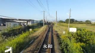 JR関西本線・快速(名古屋→四日市) 前面展望