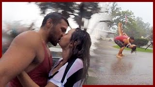 IN LOVE IN THE RAIN!!