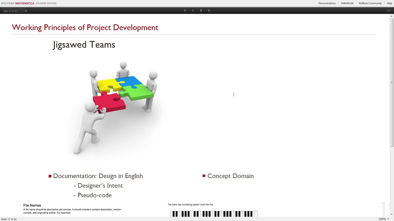 Students Building Learning Tools via Augment™ Training in Mathematica