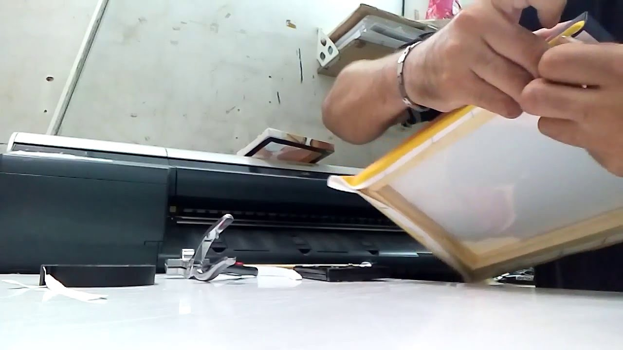 Como Hacer Cuadros De Tela O Canvas Armado Youtube - Como-hacer-cuadros-de-tela