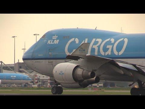 KLM/Martinair 747 Cargo take off