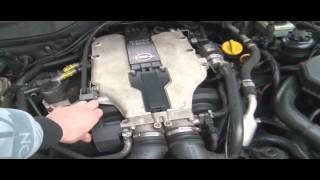 Opel Omega MV6 3,0 V6 engine sound - klepe