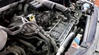 Skoda Octavia 1,2 турбо Шкода Октавия 2013 года Замена 2х радиаторов охлаждения
