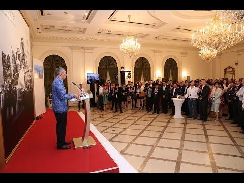 Founders Forum Smart Nation Singapore Reception