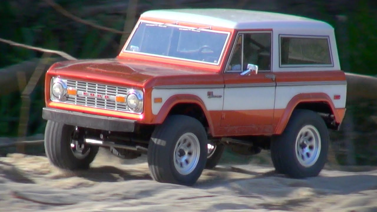 mst cmx ford bronco 39 73 on a sunny day in spring youtube. Black Bedroom Furniture Sets. Home Design Ideas