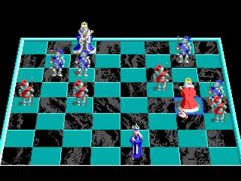 Great Battle Chess by Interplay ( MS-DOS - Version for PC )