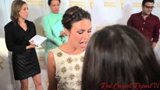 Elizabeth Hendrickson at the 2014 Daytime Emmy Awards Nominee Party #DaytimeEmmys