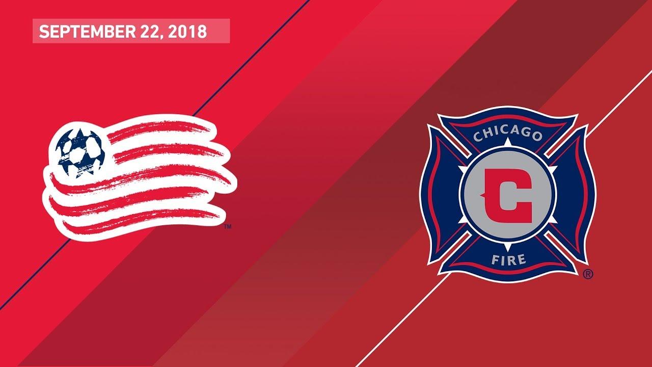 8fa9ffe8f HIGHLIGHTS: New England Revolution vs. Chicago Fire | September 22, 2018