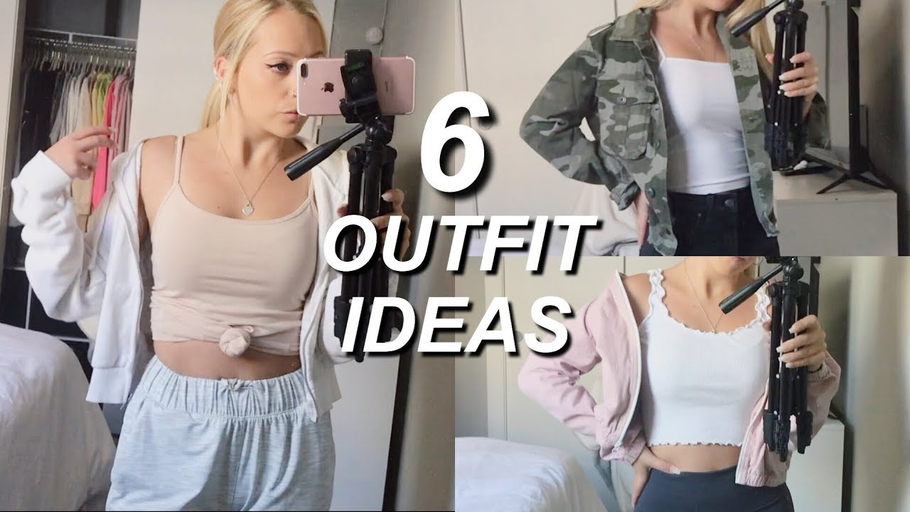 REALISTIC COLLEGE OUTFITS | back to school outfit ideas 2019