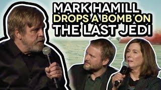 [DAMAGE CONTROL] Mark Hamill Drops BOMB on THE LAST JEDI (Watch Kathleen Kennedy & Rian Johnson)