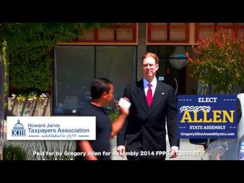 Zan Media presents Gregory Allen for California Assembly