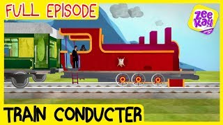 Let's Play: Train Condขctor   FULL EPISODE   ZeeKay Junior