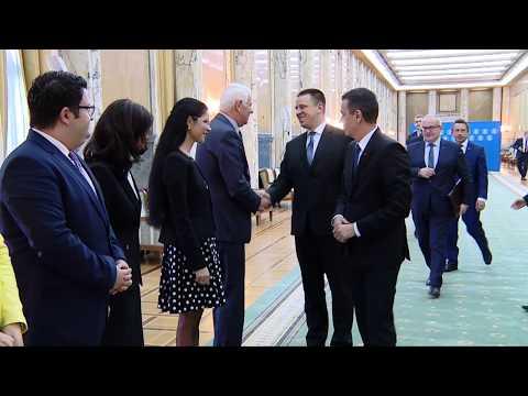 24.05.2017 Întâlnire cu premierul Estoniei, Jüri Ratas