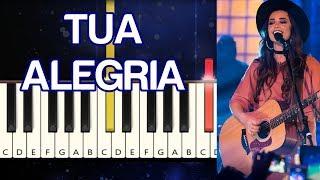 TUA ALEGRIA (ISADORA POMPEO) - TUTORIAL TECLADO