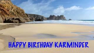 Karminder   Beaches Playas - Happy Birthday