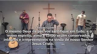 Sermão Matutino Rev  Fabio Castro 25 04 2021